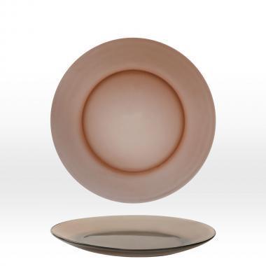 Duralex Lys Creole füstszínű lapos tányér 23,5 cm, 201041