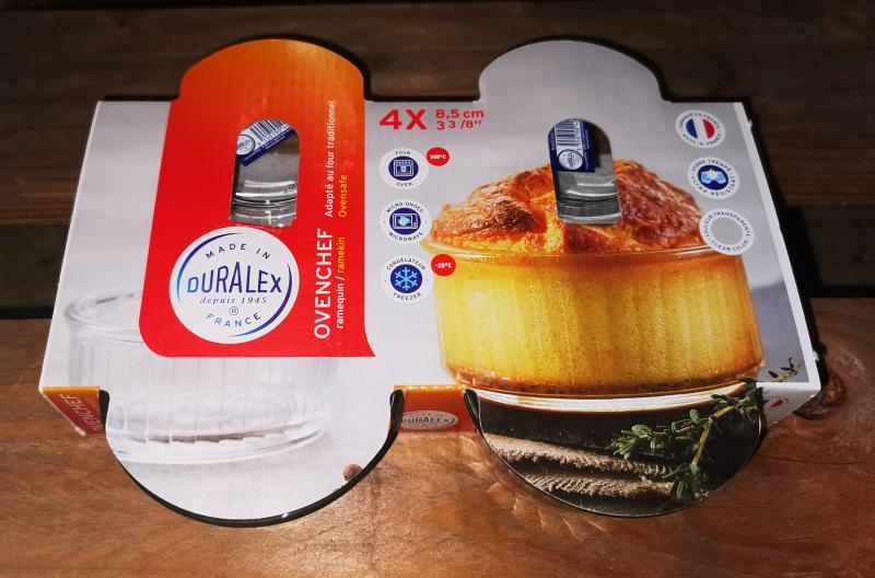 Duralex Ovenchef souffle tál szett, 4 db, 8,5 cm, 201194