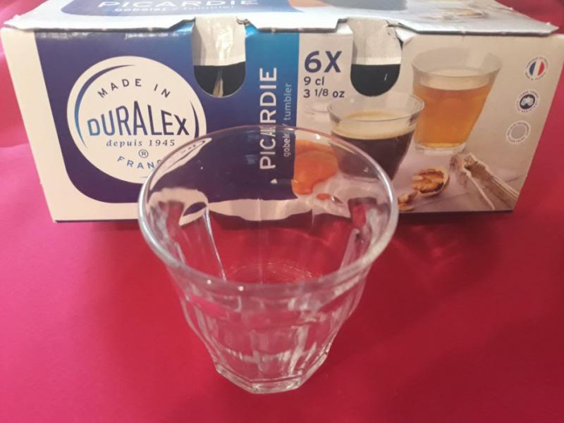 DURALEX PICARDIE kávés pohár, 9 cl, 6 db, 201001