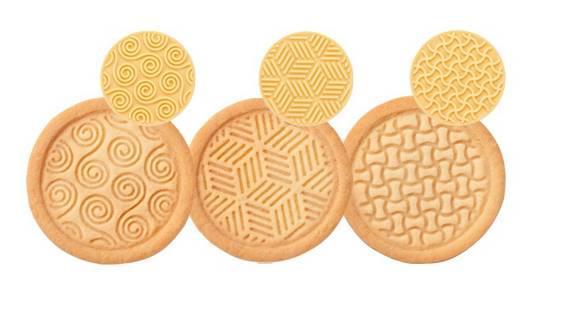Tescoma Delícia keksznyomó, hagyományos minta, 6 db, 630110