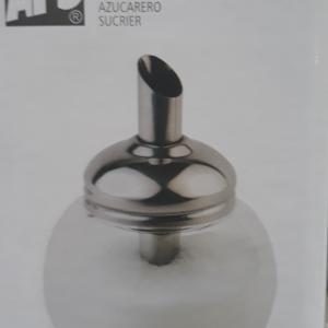 APS rozsdamentes cukoradagoló, alma alakú, 12 cm, 0,15 liter,  438158