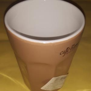 ASA Collection, Ti Amo kerámia cappuccino pohár, karamell, 25 cl, 415029