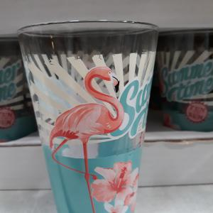 Cerve Nadia Flamingo üdítős pohár, 31 cl, 165296