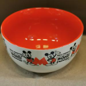 Disney Mickey 90 kerámia tálka,  265004