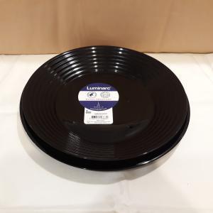 Luminarc HARENA 19 részes  fekete étkészlet, 501988