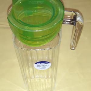 Luminarc Keep 'N' Box 1,1 liter, hűtőkancsó zöld tetővel, 500481