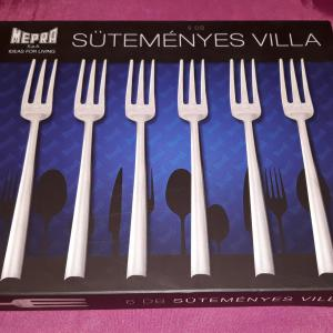 MEPRA LORENA rozsdamentes süteményes villa, 6 db, 106304