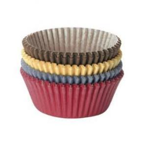 Tescoma muffin sütő papír 6x5x2,5 cm, 100 db, színes, 630634