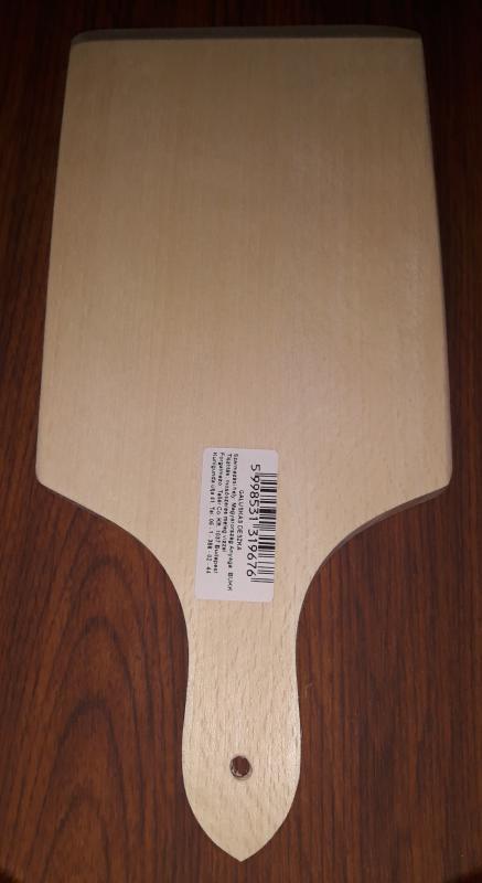 Fa galuska deszka, 31X14 cm, 302040