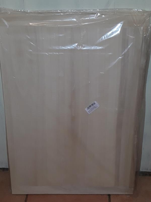 Fa gyúrótábla, 50X70 cm, peremes, 302049