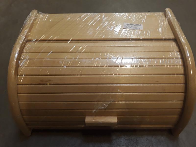 Fa kenyértartó, nagy, natúr szín, 302016