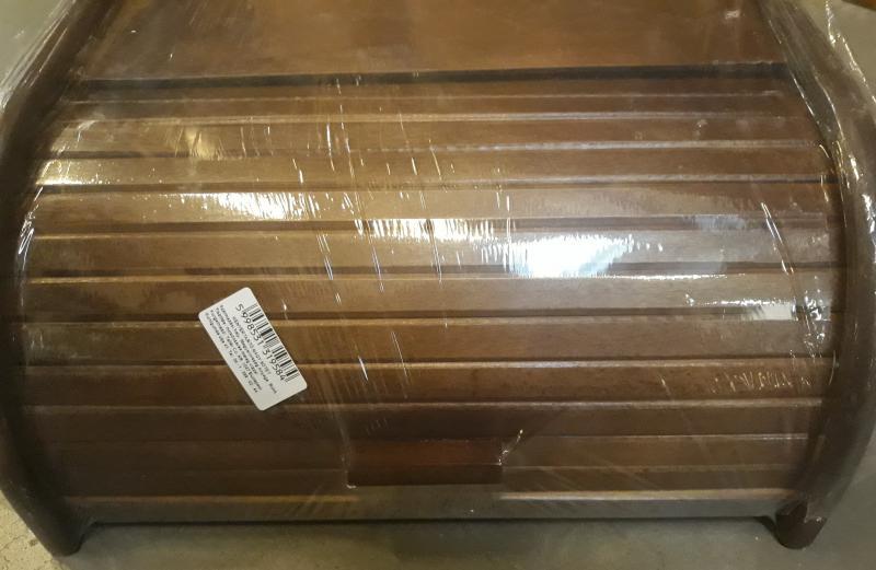 Fa kenyértartó, nagy, sötétbarna, 302017