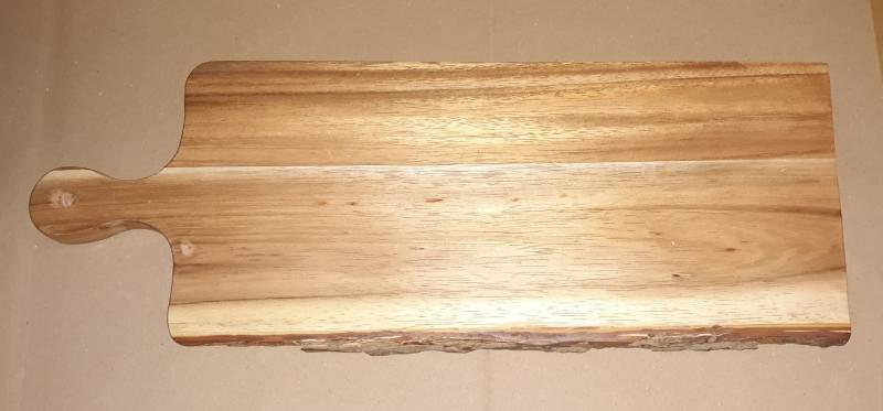 Fa nyeles vágódeszka, 17X46X2 cm, 210085
