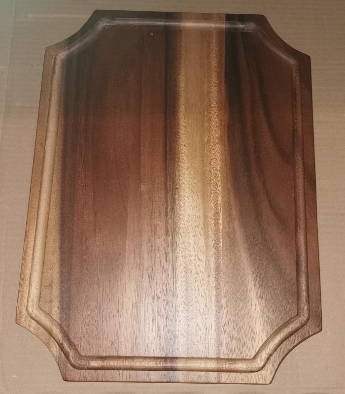Fa vágódeszka, 28X38X1,5 cm, 210086