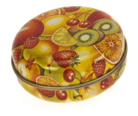 Gawol 7909/007 Cukorkás fémdoboz 76x30mm Fruit Mix