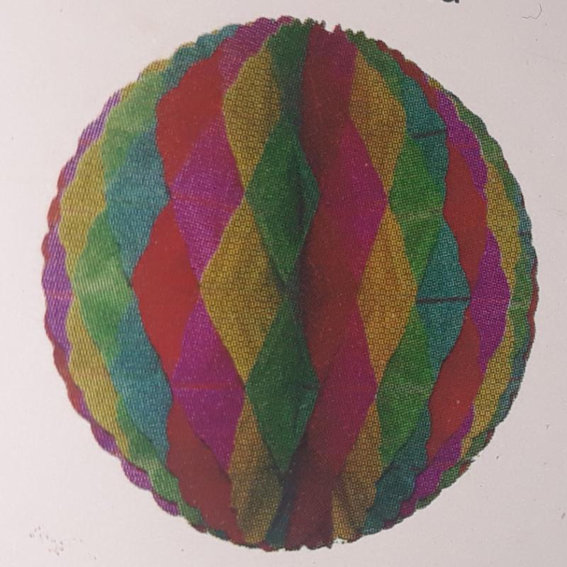 Gömbdísz, gömb lampion, 32 cm, 13006