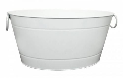 ILSA fehér pezsgősvödör, 40X28X22 cm, 126020