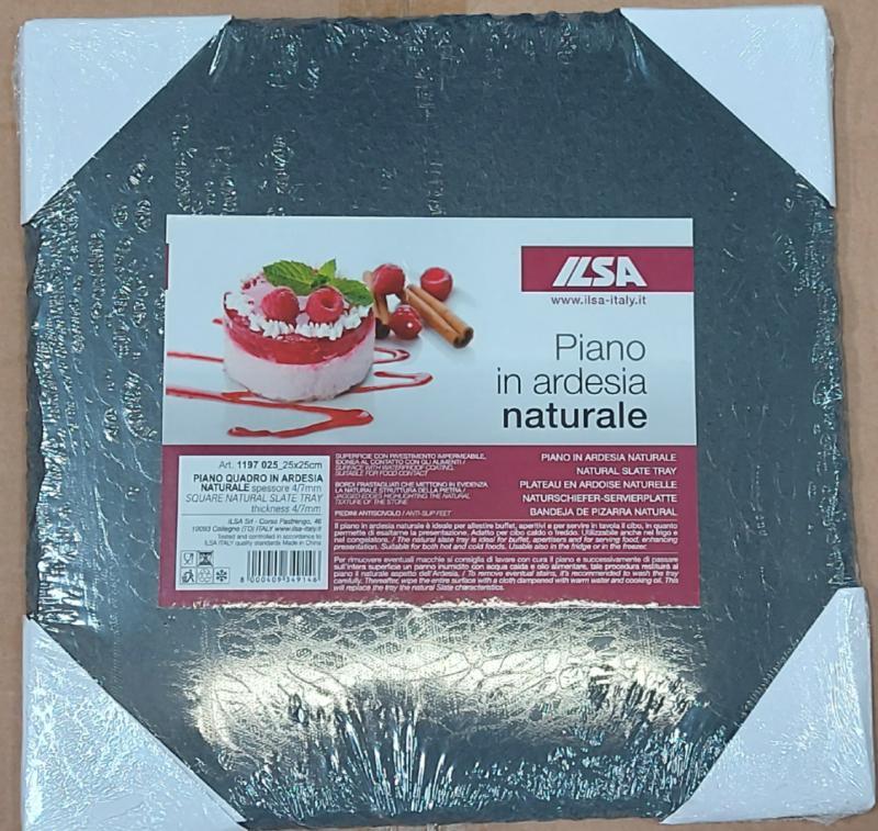 ILSA kő alátét, 25x25 cm, négyzet, 126002