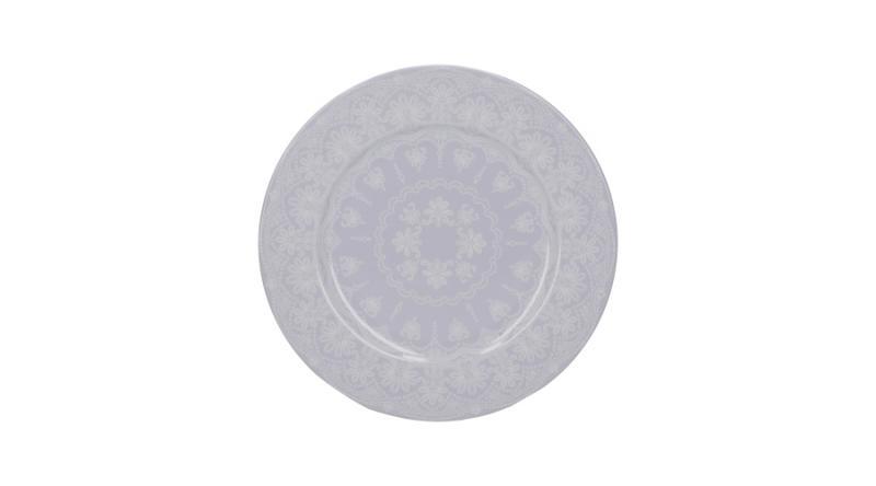 K.C.5234505 Porcelán desszerttányér 190x15x190mm,Lace,Wild Apricity, Katie Alice