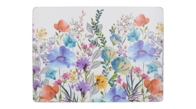 K.C.C000339 Parafa tányéralátét 4db-os 400x290x5mm,Meadow Floral