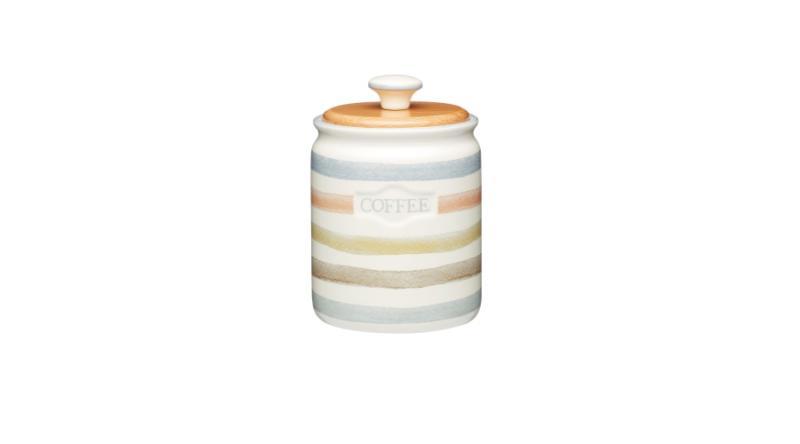 K.C.KCCCCOFFEE Kerámia kávétároló 10x17cm,KitchenCraft,Classic Collection