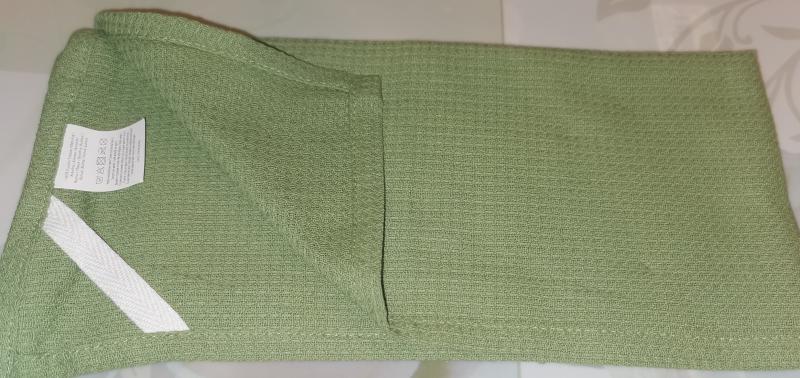 Konyharuha, zöld szín, 45X65 cm, 1 db, P043