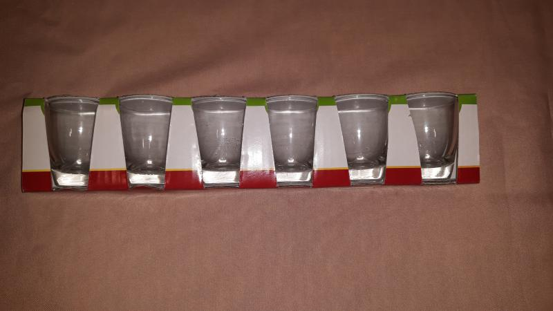 Krosno röviditalos pohár készlet, 6 db, 25 ml, 720743