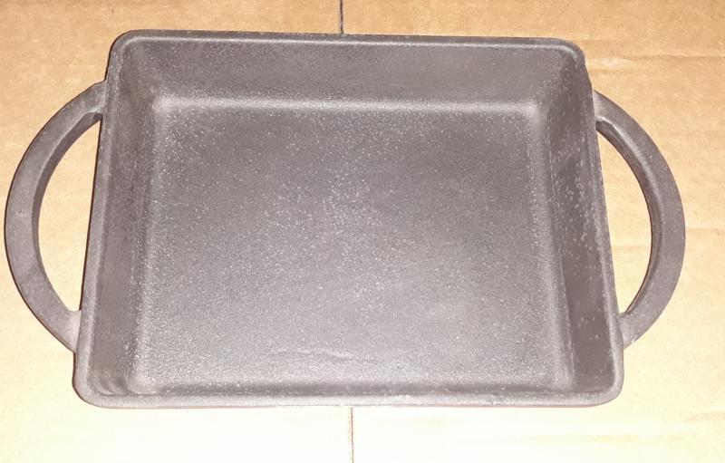 Lava Mini öntöttvas mély sütő két füllel, 15X12 cm, 290035
