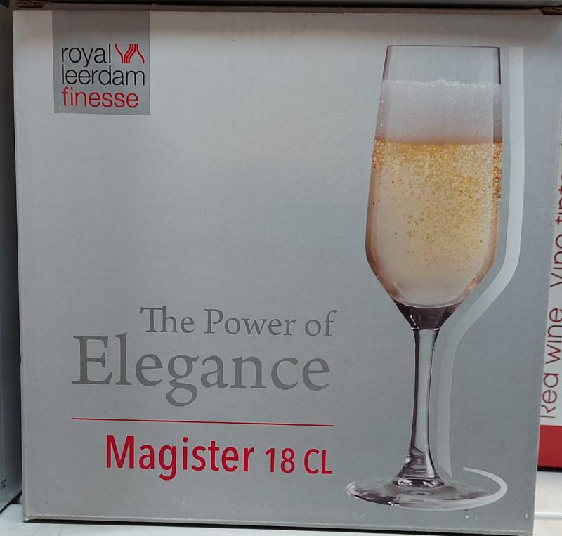 Libbey Magister pezsgős pohár 18cl, 6db