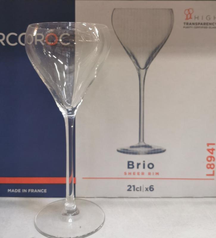 Limunarc Brio talpas pohár, 21 cl, 6 db, 502514