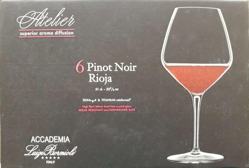 Luigi Bormioli Atelier vörösboros kehely, 61 cl, 6 db, 198088