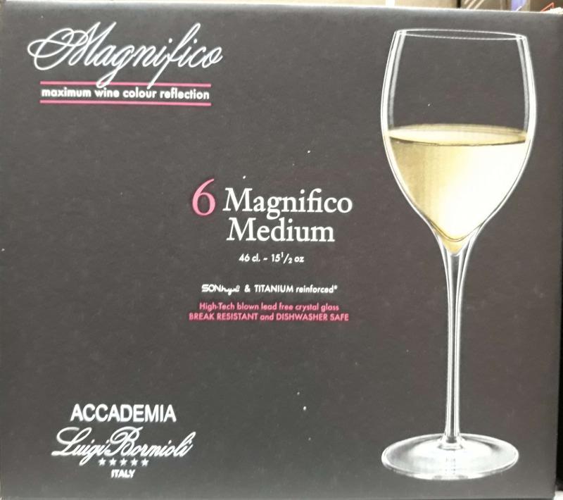 Luigi Bormioli Magnifico Medium boros pohár, 46 cl, 6 db, 198154