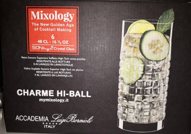 Luigi Bormioli Mixology Charme üdítős pohár készlet, 48 cl, 6 db, 198895