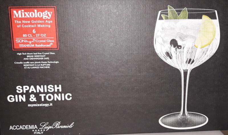 Luigi Bormioli Mixology Spanish Gin&Tonic; kehely, 80 cl, 198893