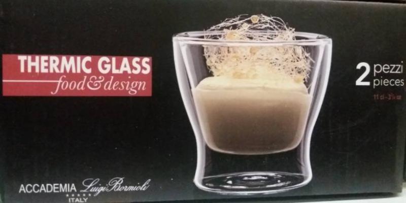 LUIGI BORMIOLI THERMIC GLASS CHOPIN pohár /tulip/, 11 cl, 2 db, 198143