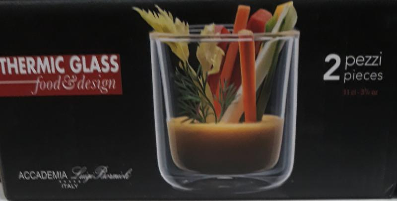 LUIGI BORMIOLI THERMIC GLASS Cilindrical, 11 cl, 2 db, 198196