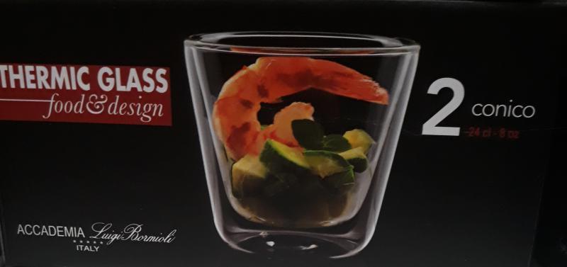 Luigi Bormioli Thermic Glass 'Conical', pohár, 24 cl, 2 db, 198167