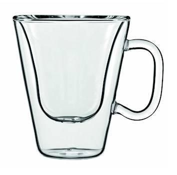 LUIGI BORMIOLI THERMIC GLASS COSTA RICA kávés csésze, 8,5 cl, 2 db, 198186