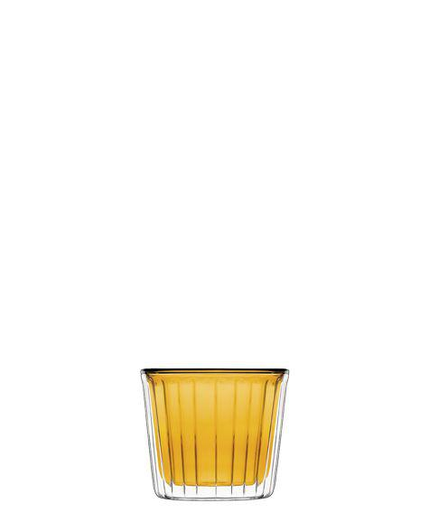 Luigi Bormioli Thermic Glass Cup Cake Amber, 2 db, 24 cl, 198235