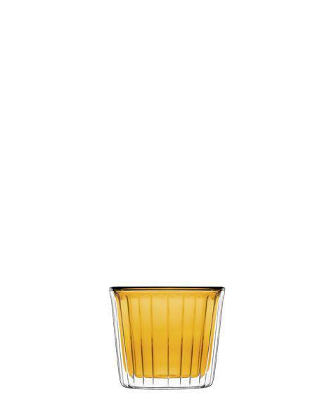 Luigi Bormioli Thermic Glass Cup Cake Amber, 2 db, 24 cl, 198235