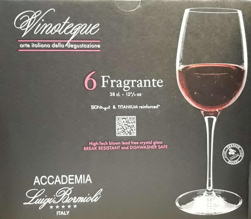 LUIGI BORMIOLI VINOTEQUE FRAGRANTE boros pohár, 38 cl, 6 db, 198125