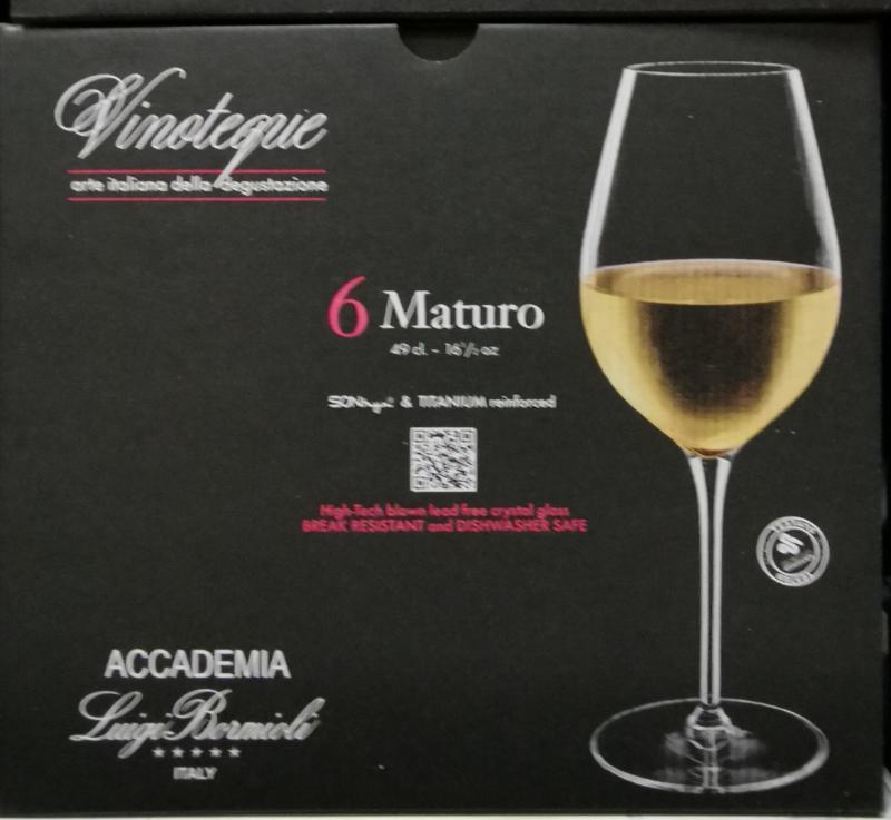 LUIGI BORMIOLI VINOTEQUE MATURO fehérboros pohár, 49 cl, 6 db, 198144