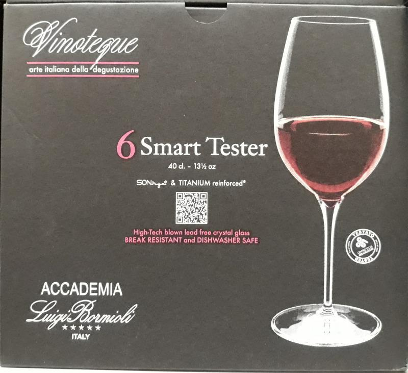 LUIGI BORMIOLI VINOTEQUE SMART TESTER, 40 cl, 6 db, 198139