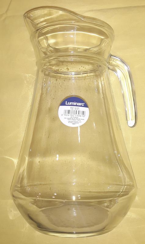 Luminarc Arc. üvegkancsó, 1,6 liter, 500150