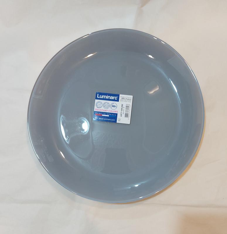 Luminarc Arty desszert tányér 20,5 cm, Brume (szürke), N4148