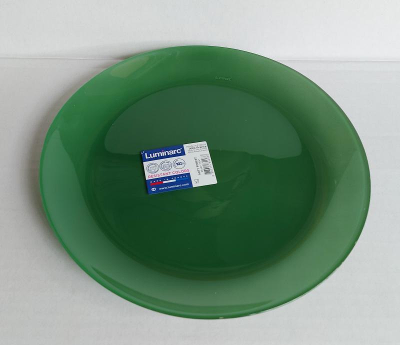 Luminarc Arty desszert tányér 20,5 cm, Forest (zöld), Q2947