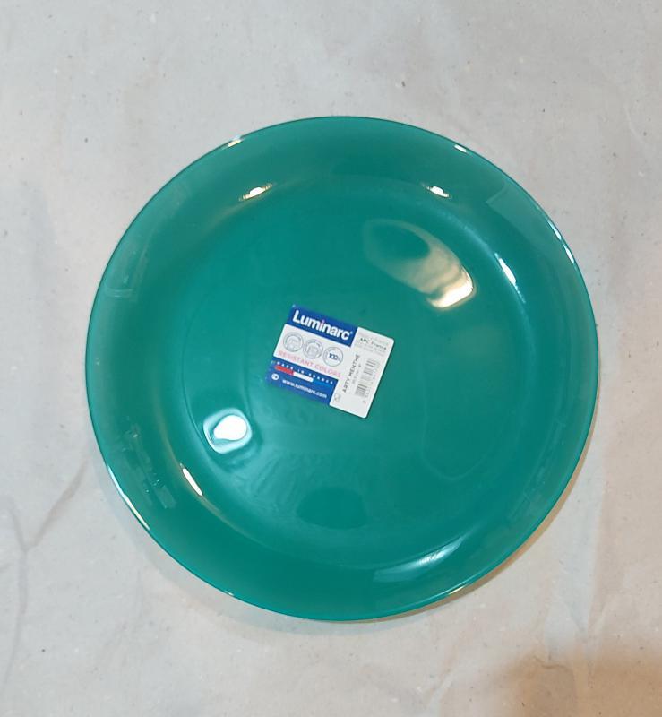 Luminarc Arty desszert tányér 20,5 cm,  Menthe (mentazöld), N4172