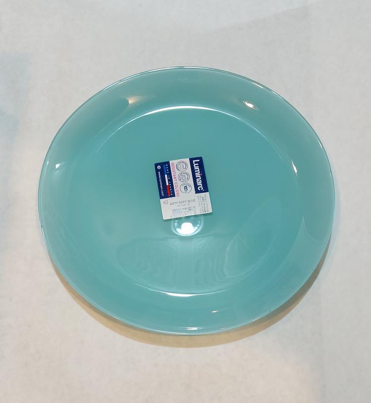 Luminarc Arty desszert tányér 20,5 cm, Soft Blue (világoskék), L1123