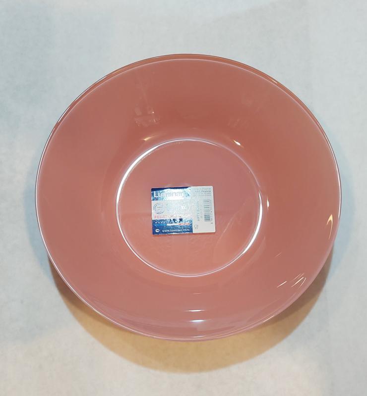 Luminarc Arty mély tányér 20 cm, Blush (rózsaszín), N4465