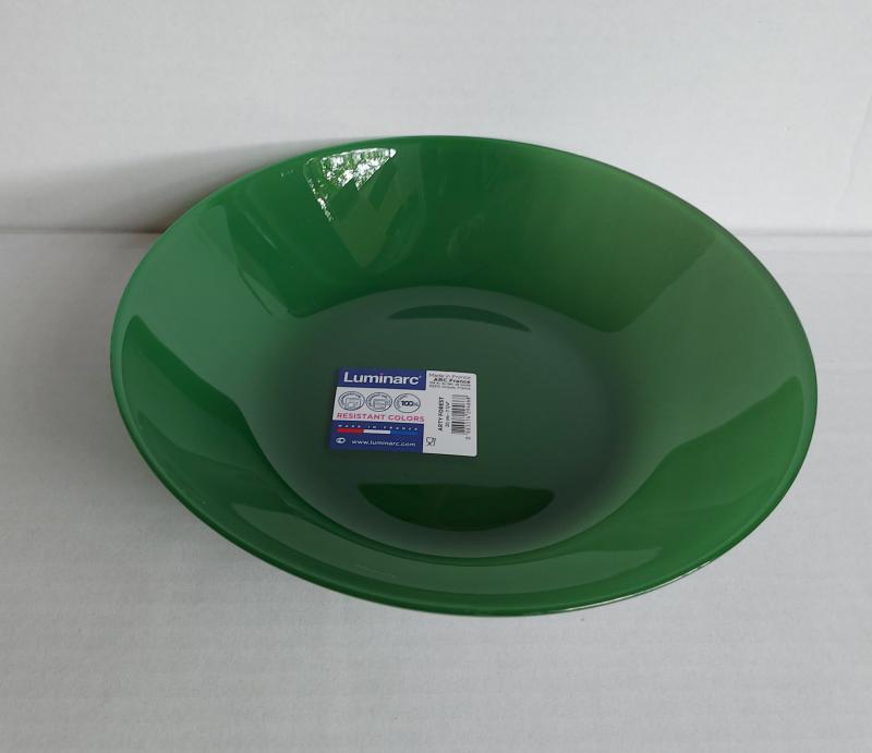 Luminarc Arty mély tányér 20 cm, Forest (zöld), Q2950